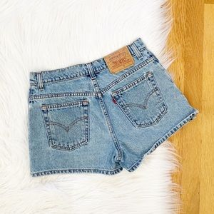 Levi's | Vintage High Rise Denim Shorts